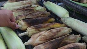 Fondo del maíz de la parrilla