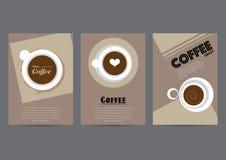 Fondo del manifesto del caffè Fotografia Stock Libera da Diritti