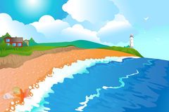 Fondo del mar listo libre illustration