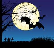 Fondo del marco de Halloween Imagen de archivo libre de regalías