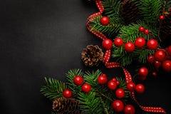 Fondo del marco de la Navidad foto de archivo libre de regalías