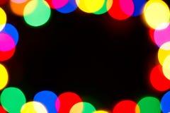 Fondo del marco de los días de fiesta Foto de archivo libre de regalías
