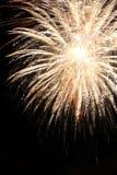 Fondo del marco de los fuegos artificiales del Año Nuevo Foto de archivo libre de regalías