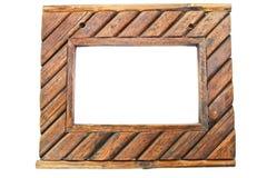 Fondo del marco de madera Imagen de archivo