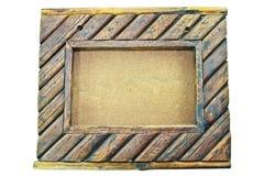 Fondo del marco de madera Imagen de archivo libre de regalías