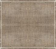 Fondo del material del saco de la arpillera Foto de archivo libre de regalías