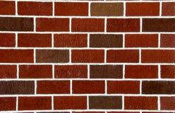Fondo del mattone rosso Fotografie Stock
