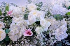 Fondo del mazzo del fiore fotografia stock