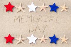 Fondo del Memorial Day Fotografía de archivo