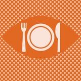 Fondo del menú Foto de archivo libre de regalías