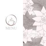 Fondo del menu della tazza di caffè royalty illustrazione gratis