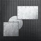 Fondo del metal Foto de archivo libre de regalías