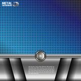 Fondo del metal Imágenes de archivo libres de regalías