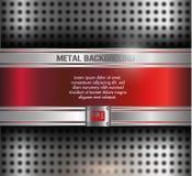Fondo del metal Fotografía de archivo libre de regalías