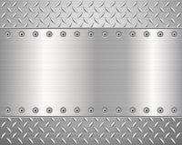 Fondo del metal del diamante libre illustration