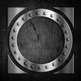 Fondo del metal del Grunge Foto de archivo libre de regalías