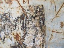Fondo del metal oxidado Imagen de archivo