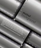Fondo del metallo Immagine Stock
