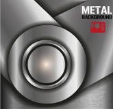 Fondo del metallo Immagine Stock Libera da Diritti