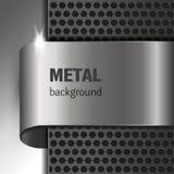 Fondo del metallo Immagini Stock