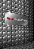 Fondo del metallo Fotografia Stock Libera da Diritti