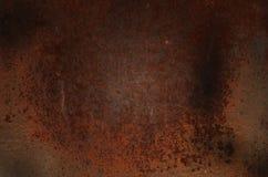Fondo del metallo della ruggine, vecchio ferro Fotografia Stock Libera da Diritti