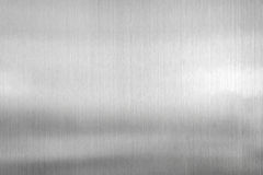 fondo del metallo di struttura del piatto d'acciaio spazzolato Immagini Stock Libere da Diritti