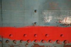 Fondo del metallo di vecchia locomotiva a vapore Immagine Stock Libera da Diritti