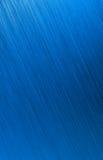 Fondo del metallo spazzolato blu Immagini Stock