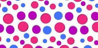 Fondo del modello del cerchio Fotografia Stock