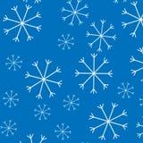 Fondo del modello della neve Fotografia Stock