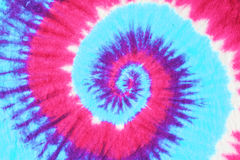 fondo del modello della tintura del legame Fotografie Stock