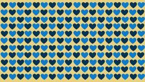 Fondo del modello di amore di animazione Giorno del biglietto di S royalty illustrazione gratis