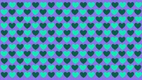 Fondo del modello di amore di animazione Giorno del biglietto di S illustrazione vettoriale