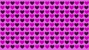 Fondo del modello di amore di animazione Giorno del biglietto di S illustrazione di stock