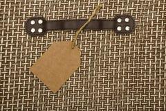 Fondo del modello di struttura del rattan Modello classico del vimine di legno di bambù tessuto, una parte di struttura della mob fotografie stock libere da diritti