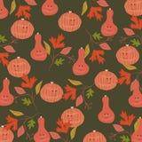 Fondo del modelo de Halloween Ilustración del vector imagen de archivo