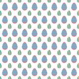 Fondo del modelo de la forma del diseño del huevo de Pascua Imagen de archivo