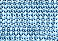 Fondo del modelo de la tela del triángulo y del Rhombus Textura colorida Imagenes de archivo
