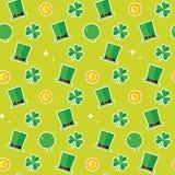 Fondo del modelo del día de St Patrick Fotografía de archivo libre de regalías