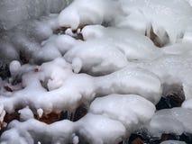 Fondo del modelo del hielo Fotografía de archivo