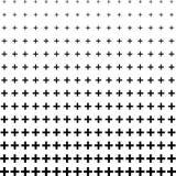 Fondo del modelo del tono medio del signo más libre illustration