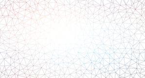 Fondo del modelo del triángulo Fotos de archivo libres de regalías