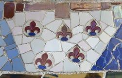 Fondo del mosaico Fotografía de archivo