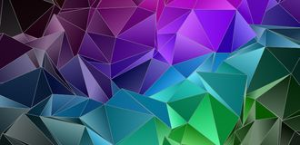 Fondo del mosaico del color Foto de archivo libre de regalías