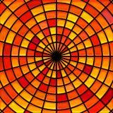 Fondo del mosaico del cristal de colores del vector imágenes de archivo libres de regalías