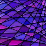 Fondo del mosaico del cristal de colores del vector imagen de archivo