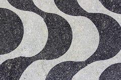 Fondo del mosaico de Copacabana imágenes de archivo libres de regalías