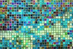 Fondo del mosaico de la teja fotografía de archivo