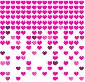 Fondo del mosaico del corazón Fotografía de archivo libre de regalías